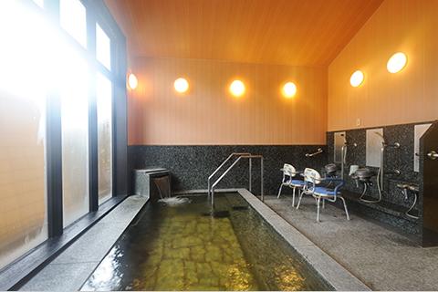 施設内で利用できる天然温泉